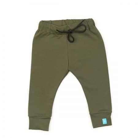 Khaki zöld megkötős nadrág