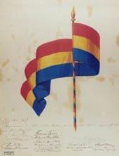 Budapest régi zászló