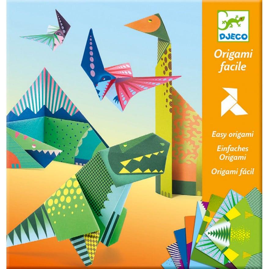 Djeco origami dinoszauruszok miniart
