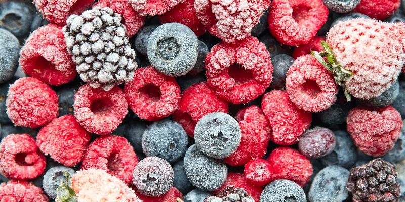 A fagyasztott gyümölcsök
