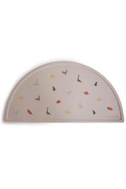 Gyerek szilikon tányéralátét - Dínó
