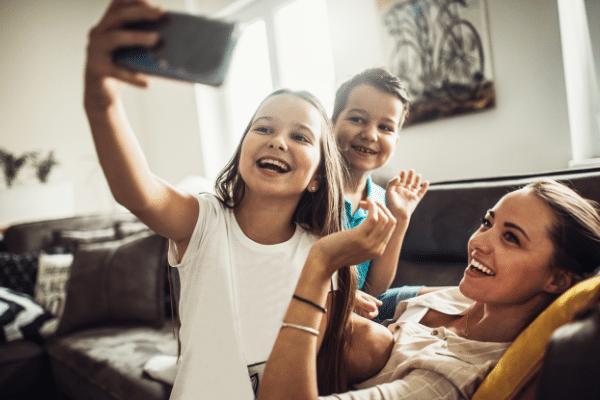 online beszélgetés a rokonokkal