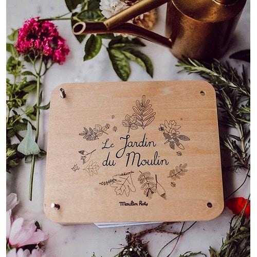 Levél- és virágprés a Moulin Roty-tól