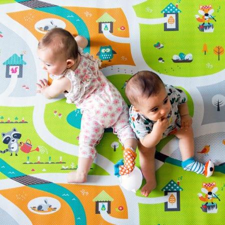 Játszószőnyeg megfordítható, miles | BBlüv