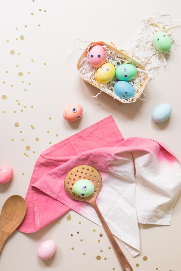 Mozgo szemu húsvéti tojások a Minimagon
