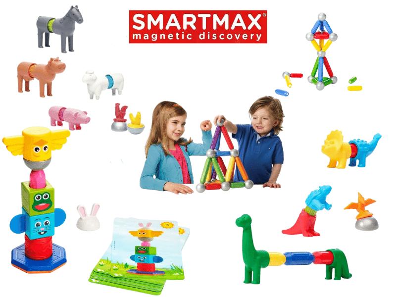 Smartmax építőjátékok mágnesesek