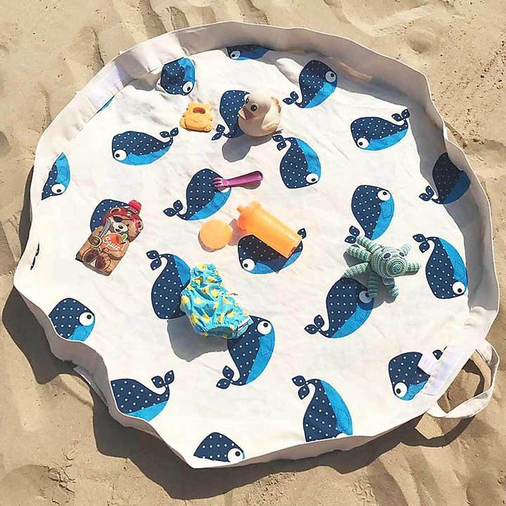 3 Sprouts játszószőnyeg bálna :minimag