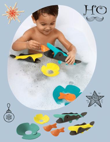 Quut-Krokodil folyó 3D fürdős puzzle