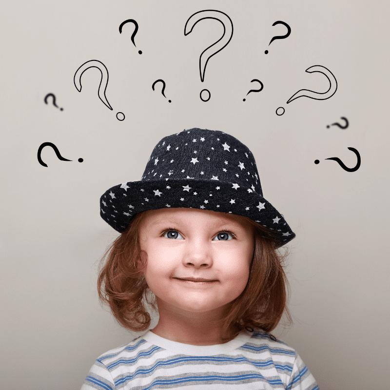 Gyermeki kiváncsiság, kérdés