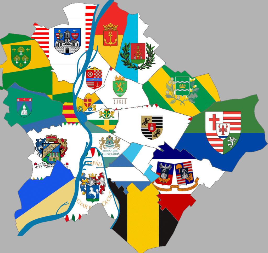 kerületi zászlók