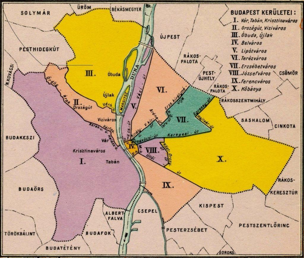 régi térkép budapestről