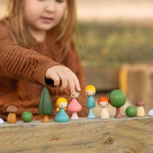 kis világ fajátékok , clicques játékok