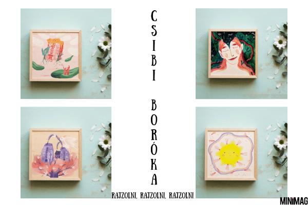 Csibi Boróka a Minimagon