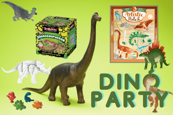 Dinoszauroszos játékok minimag