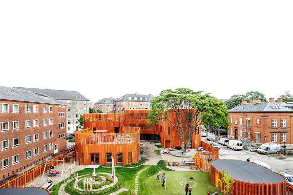 Forfatterhuset Óvoda Koppenhága, Dánia