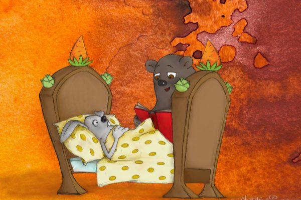 Bálint Endre: Maci és a beteg nyuszi (mese)