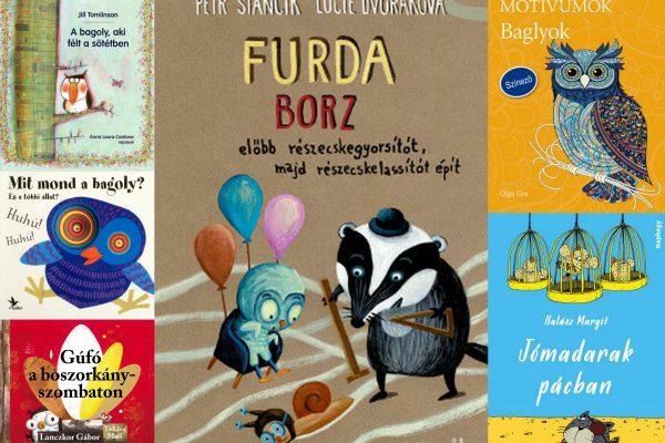 5+1 kedvenc baglyos gyerekkönyvünk