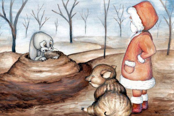 Csukárdi Sándor: A pirosruhás kísértet (mese)