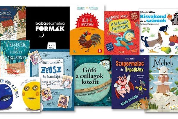 Őszi könyvszüret – 30 új gyerekkönyv