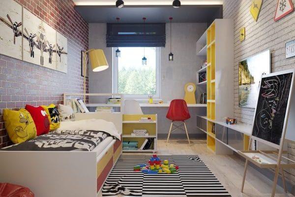 Hogyan rendezd át gyermeked szobáját iskolakezdéskor?