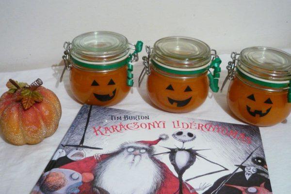 Tim Burton: Karácsonyi lidércnyomás Narancsos-gyömbéres sütőtöklekvár