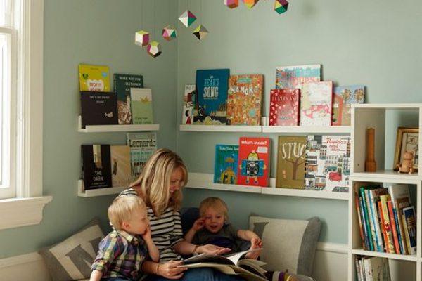Hogyan alakítsunk ki olvasósarkot gyerekeknek? Tippek