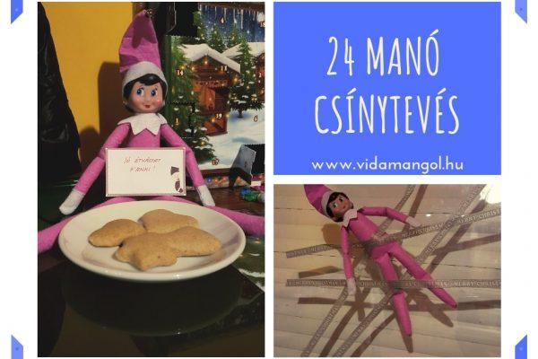 Elf on the Shelf – 24 manó csínytevés