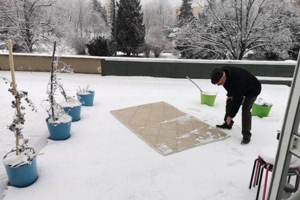 Így tisztítsd ki hóval a szőnyeget! - Környezetbarát tisztítás