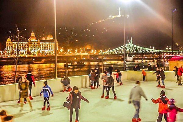 Ingyenes korcsolyapályák Budapesten 2018: 8 szuper hely