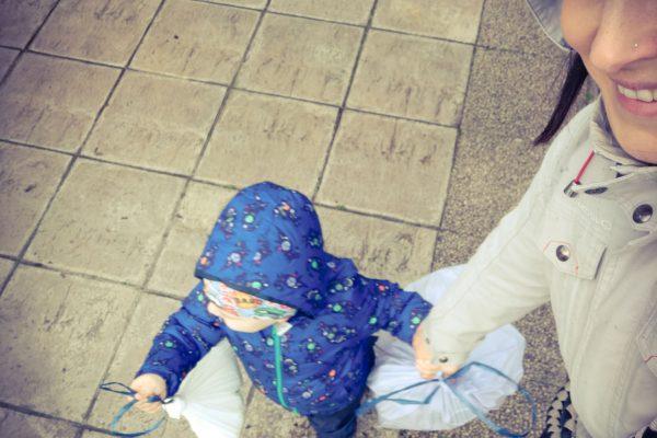 Egy háromtagú család tudatos háztartása