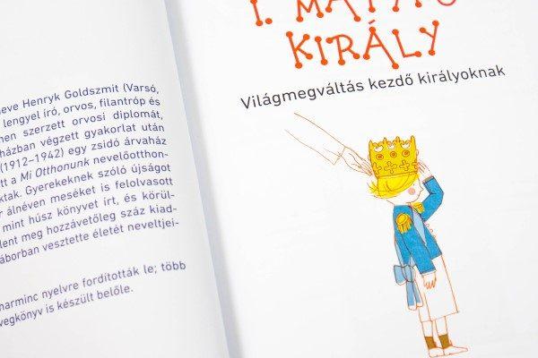 Janusz Korczak: I. Matykó király -világmegváltás kezdő királyoknak