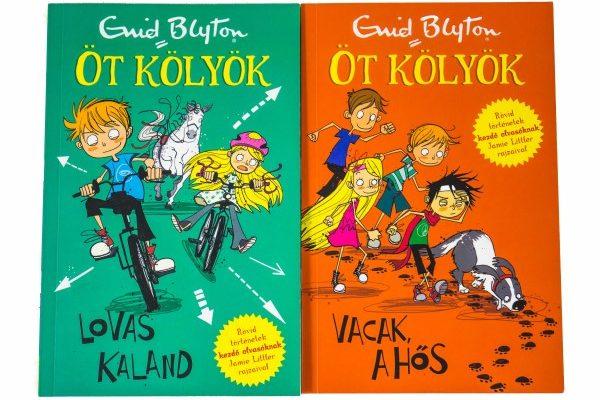 Enid Blyton: Öt gyerek