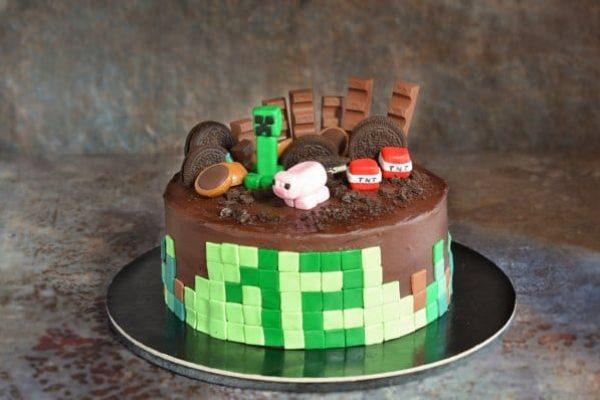 A Minecraft torta esete a majdnem kompromisszumkész anyával