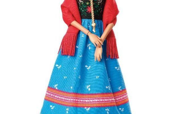 Frida Kahlót ábrázoló babákkal állít inspiráló példaképet a Barbie