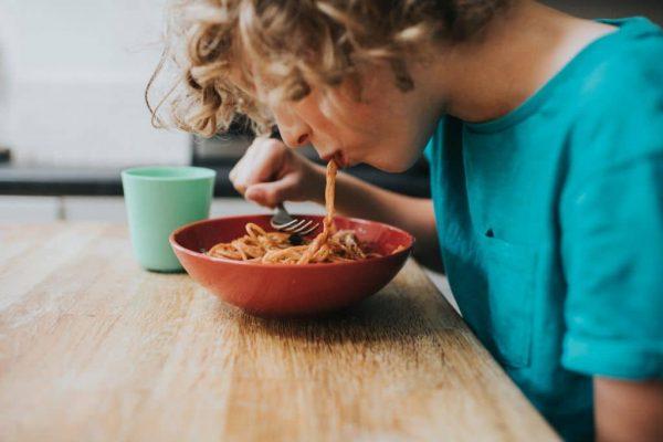 Bowl of Meatballs and Spaghetti