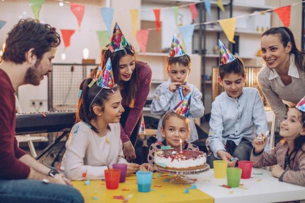 szülinapi gyerekparti szabályok