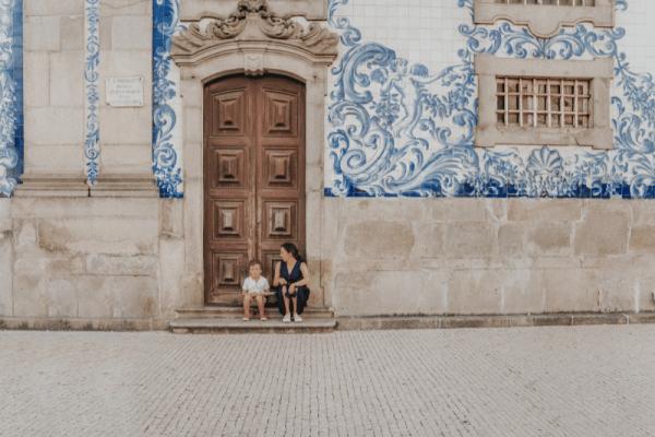 Portugália anya és gyerek