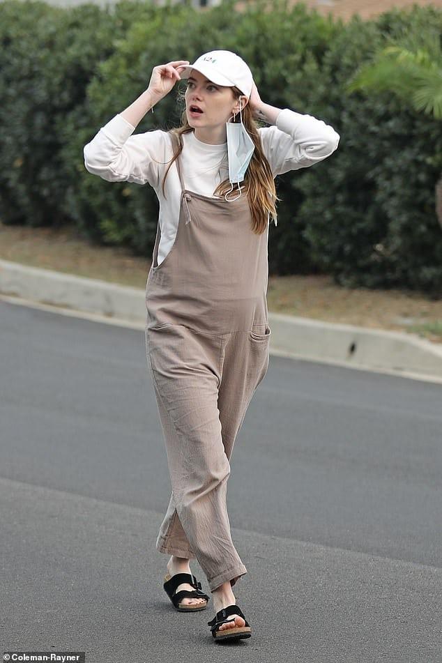 A titokzatos Emma Stone baba
