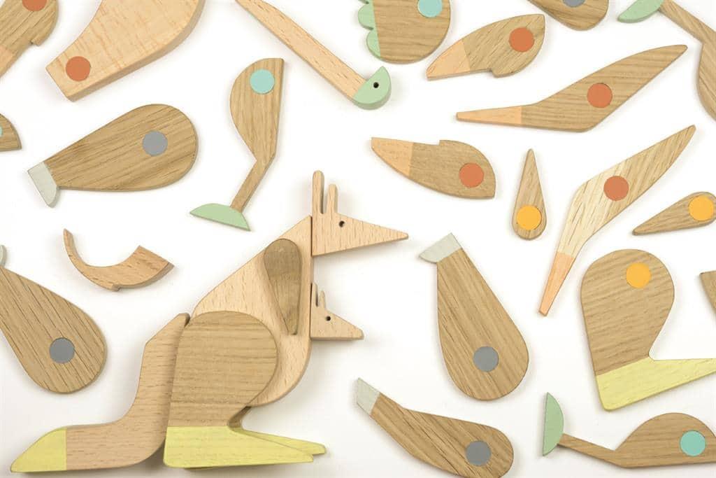 Az elbűvölő ESNAF fa- és mágneses játékok a minimagon ausztália