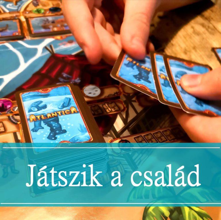Játszik a család: Új társasjátékok érkeztek!