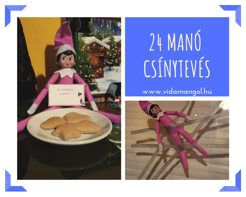 Elf on the Shelf – 24 manó csínytevés