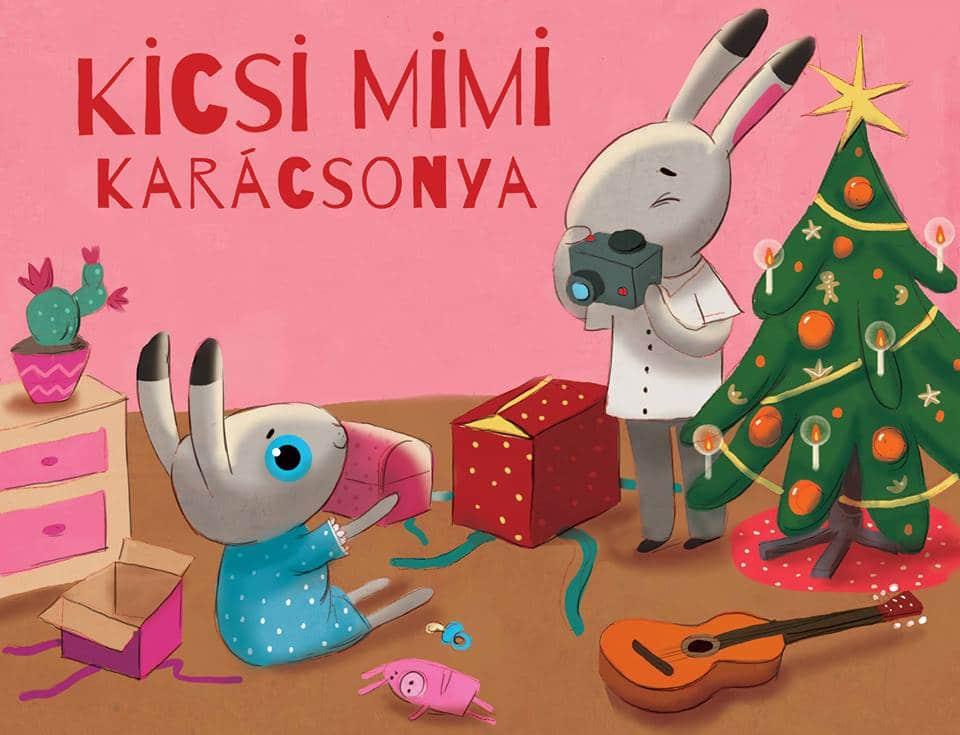 Kicsi Mimi karácsonya könyvbemutató