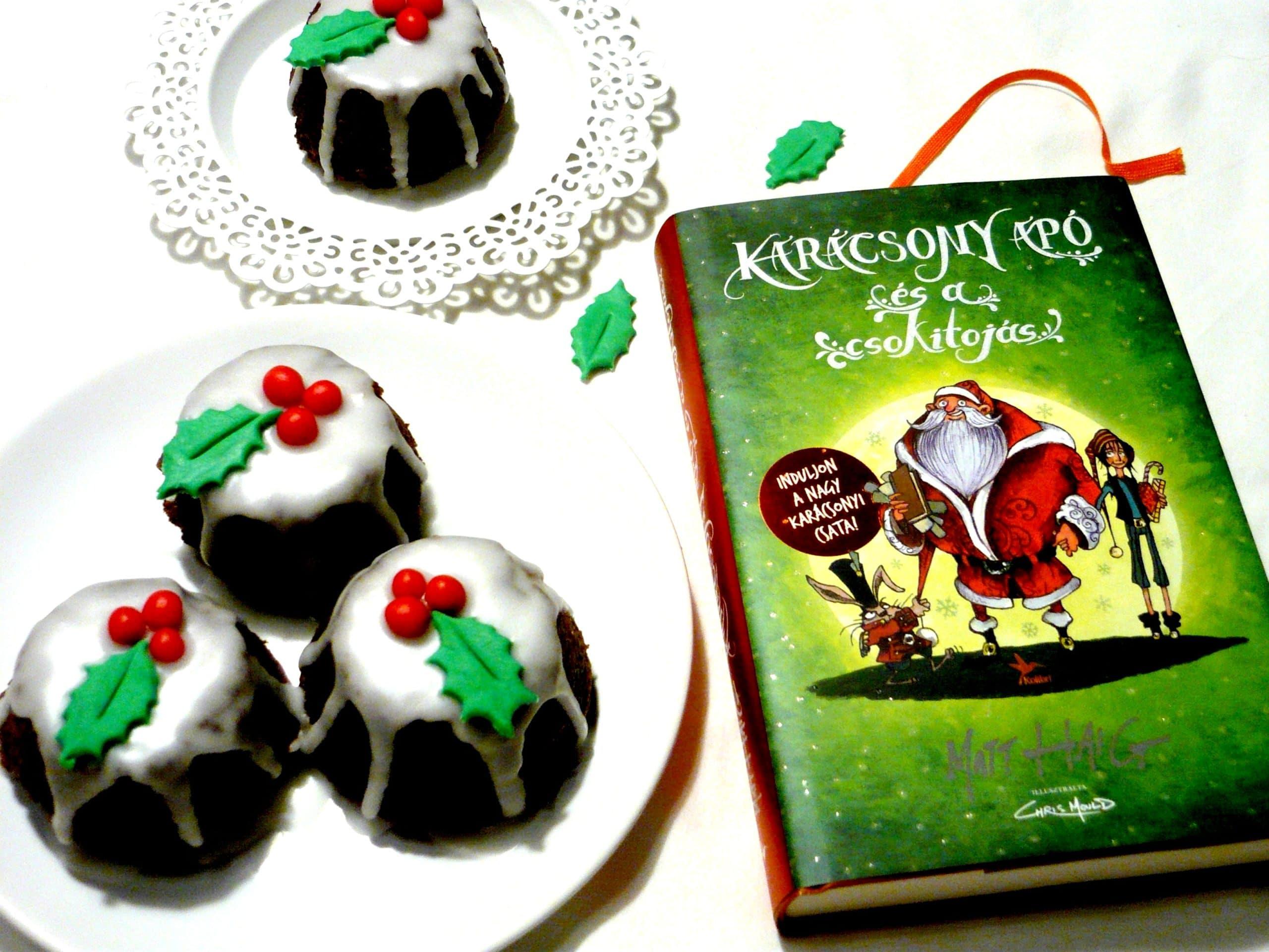 Matt Haig: Karácsony apó és a csokitojás - Karácsonyi kakaós-narancsos süti