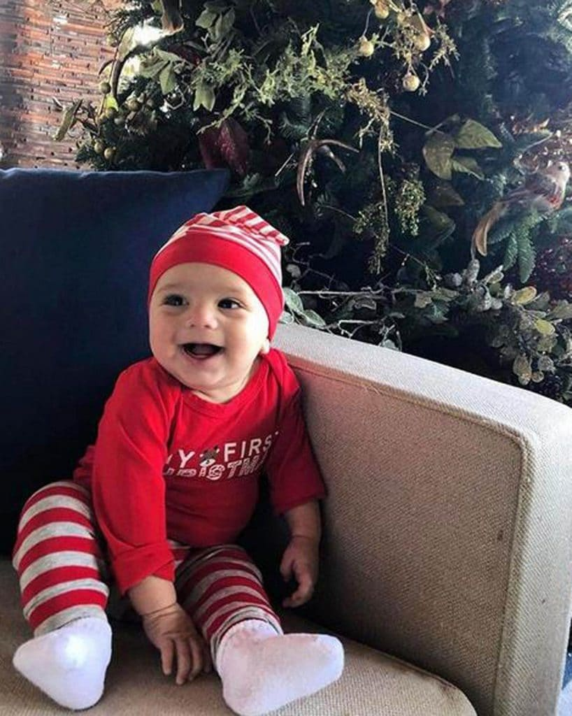 Eva Longoria kisfia volt a legcukibb karácsonykor