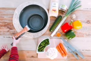 Vegán currys finomság sült karfiollal
