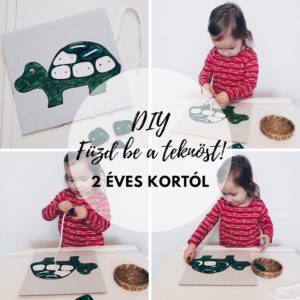 Fűzd be a teknőst | csináld magad!