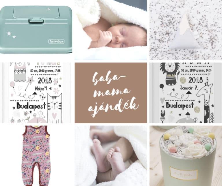 Találd meg a tökéletes baba-mama ajándékot!