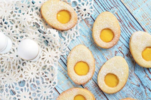 Bodzás-citromkrémes linzertojás – húsvétra fel!