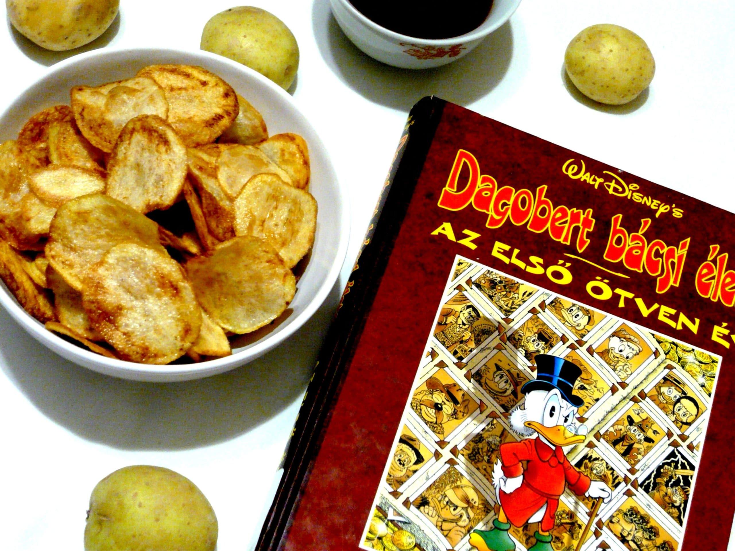 Don Rosa: Dagobert bácsi élete - Az első ötven év Dollár chips
