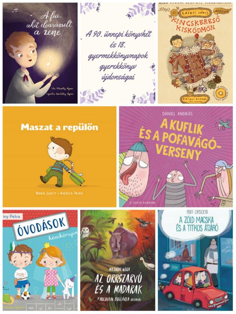 Gyerekkönyv újdonságok Könyvheti megjelenések